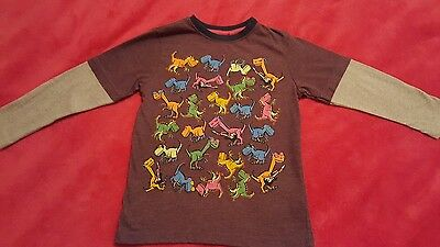 Next boys dinosaur long sleeved top. t-shirt. Age 5 years