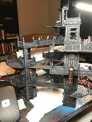 Warhammer 40K Scenery Painted Hive City Building Set Necromunda GW