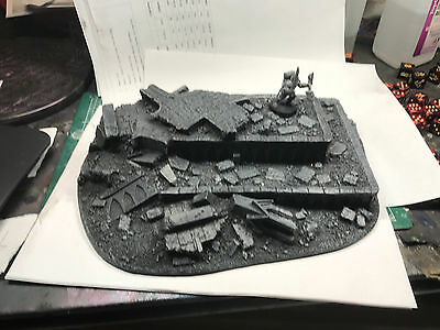 Warhammer 40K Scenery Painted Crypt Ruin GW Games Workshop