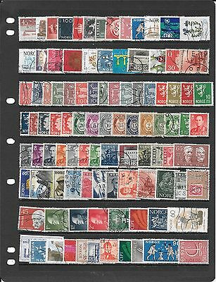 Norway Collectin Of Used Stamps Bb222