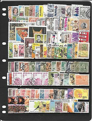Asia Collection Of Used Stamps Bb314