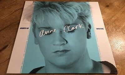"LP * ANNE CLARK ""JOINED UP WRITING"" 10 Records 206 671 GERMAN VINYL"