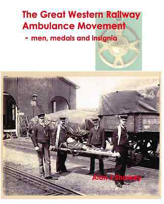 GREAT WESTERN RAILWAY (GWR) St John Ambulance Centre medals etc reference book.