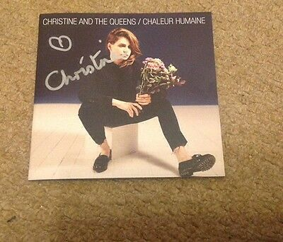 CHRISTINE and The QUEENS   -  SIGNED. CHALEUR  -   UK  CD    -  AUTHENTIC - UACC