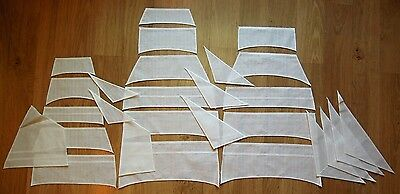 Revell Cutty Sark - set of sails for model, 1:96, sewed on CNC machine