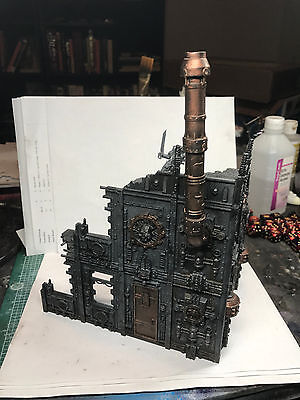 Warhammer 40K Scenery Painted Small Manafactorum GW Games Workshop