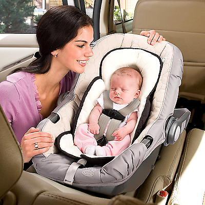 Infant Support Car Seat Baby Accessories Head Carseat Stroller Bouncy Seat Black