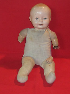 """Ideal composition crier doll for Steampunk project, restoration or repair, 15"""""""
