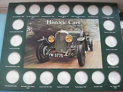 Shell Historic Cars Coin Collection Official Shell Board