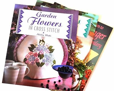 Cross Stitches and Hardanger Embroidery Books