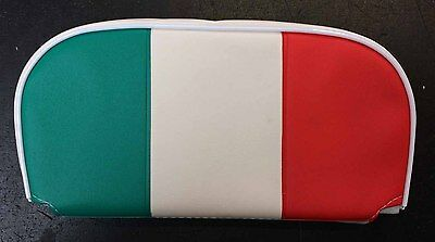 Rear / back rest cushion Italy flag for Vespa, LML & Lambretta (W250mm x H130mm)