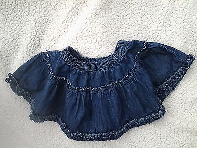 Girls - Denim Layered Skirt - Age 18/24 Months