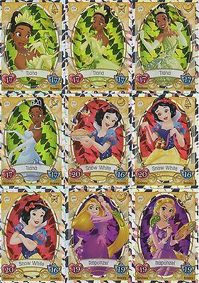 Topps Disney Princess Trading Cards - Choose Your Cards, Buy 3 Get 7 Free!