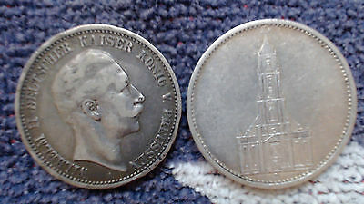 Germany  3 An 5  Marks   Silver.....#27