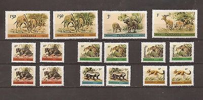 16 Stamps _ Wild Animals_ from 1980_ CV $5.80 _ MNH _Irq164