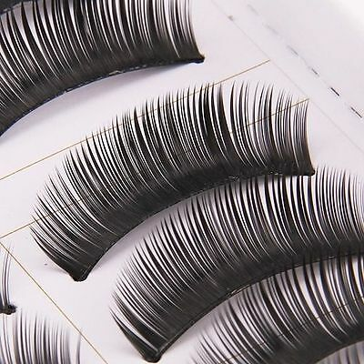 10 Pairs Natural Thick False Eyelashes Eye Lashes Long Soft Makeup Handmade J010