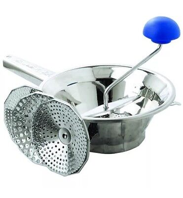 Mouli NEW Emanuel Mouli 20cm (RRP $75) Made In Italy Potato Ricer Baby Food Mill