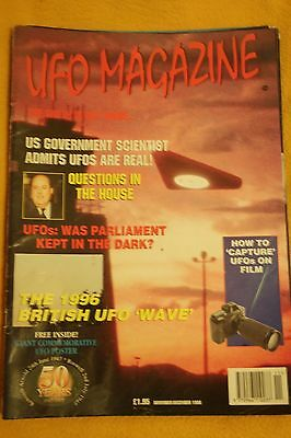 UFO MAGAZINE - THE TRUTH IS OUT THERE - 8 ISSUES from 1994-1996
