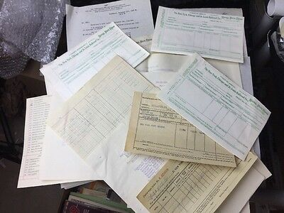 Huge Lot Of Nickel Plate Railroad Ephemera 1917-60's. Cleveland OH  Erie PA