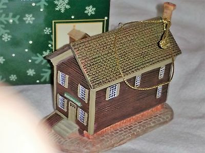 Lang & Wise Colonial Williamsburg NICOLSON STORE Ornament