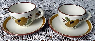 Vintage (2) Stangl First Love Cups & Saucers