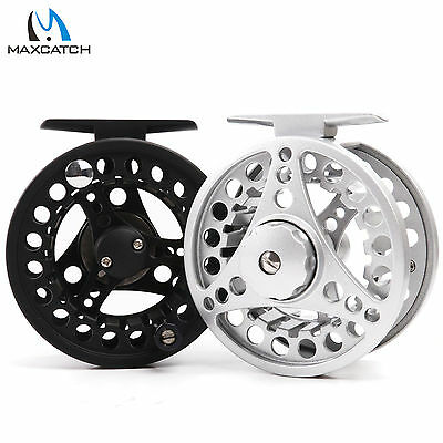 Maxcatch 1/2/3/4/5/6/7/8WT Fly Reel Aluminum Fly Fishing Reel For Trout
