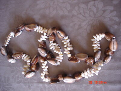 Papua New Guinea PNG shell necklace