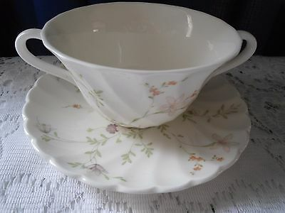 Wedgwood Soup Cup and saucer 'Campion' pattern