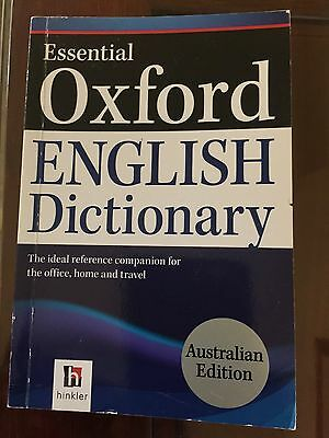 Essential Oxford English Dictionary by Hinkler Books (Paperback, 2011)