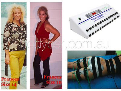 """""""stock Clearance Sale"""" Ems Face & Body Toning Machine Abs Butt Legs Calves Arms"""