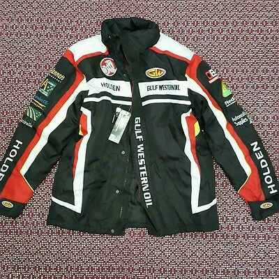 Holden Racing Team Western Oil Thick Winter Jacket Size M - Bnwt