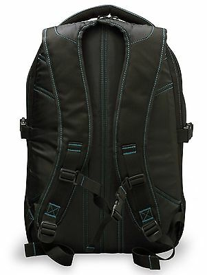 Cardiff Skate Co. Skate Backpack with Blue Accent Black/Blue NEW