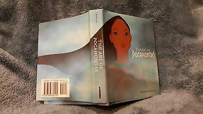 Disney Art Of Pocahontas With Illustration From Disney Press Rare