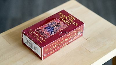 The Enochian tarot cards deck and Box (Brand new)