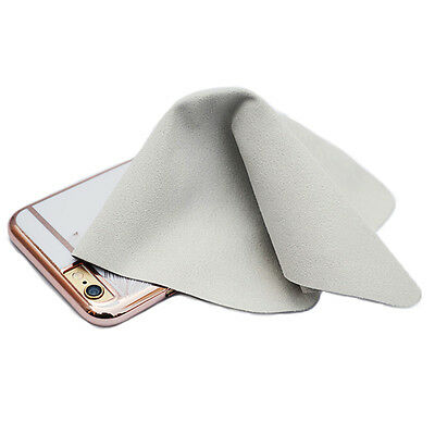 3pcs Microfiber Phone Screen Cleaning Cloth Camera Lens Glasses Square Cleaner