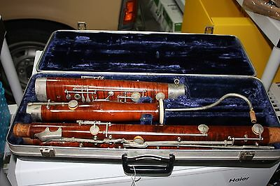 Puchner Bassoon in Good condition imported by Haynes Schwelm Company
