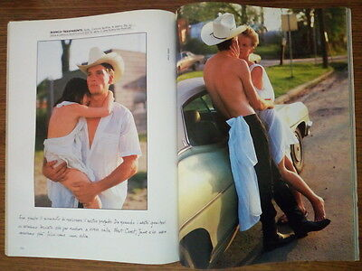 LEI 1984  BRUCE WEBER TEXAS STORY Herb Ritts ANDIE McDowell RARE pictorial pages