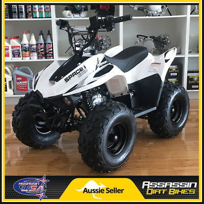 Assassin Space Kids ATV 110cc QUAD Dirt Pit Bike Gokart 4 Wheeler Buggy