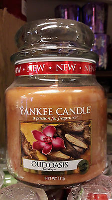 Yankee Candle OUD OASES 411 gr. -  EXCELLENTER DUFT!!