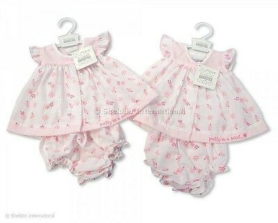 'pretty As A Petal' Reborn / Early Baby Dress. Tiny Baby, Newborn