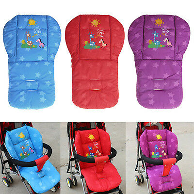 Infant Baby Stroller Cushion Cart Soft Seat Cushion Pushchair Cotton Thick Mat