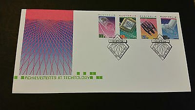 Achievements in Technology First Day Cover