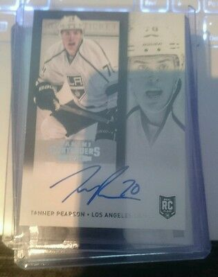 2013/14 Contenders Rookie Auto - Tanner Pearson