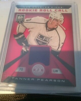 2013/14 Totally Certified Rookie Jersey - Tanner Pearson