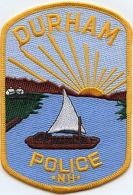 Durham New Hampshire Nh Police Patch