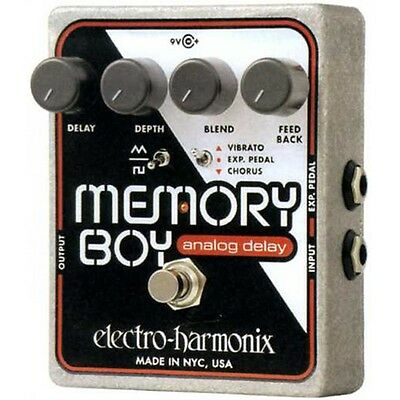 Electro Harmonix Memory Boy Analogue Delay Effects Pedal for Guitar