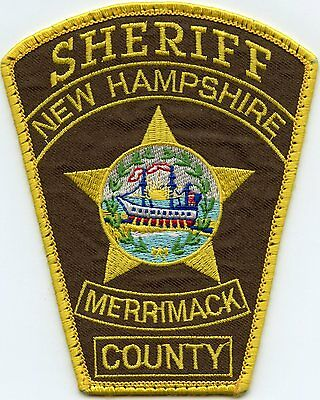 Merrimack County New Hampshire Nh Sheriff Police Patch