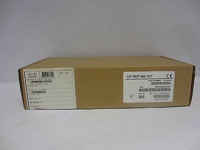 Cisco 7937- Mic Kit New Boxed ( 2 x Microphones + Cables ) 2201-40140-001