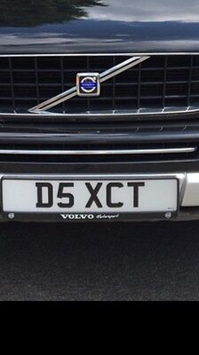 D5XCT Private Registration Volvo XC90