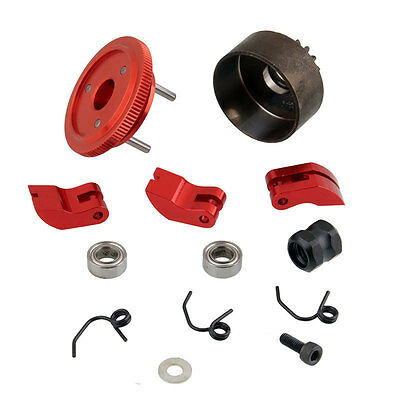 81020R Clutch Bell 14T Gear Flywheel Assembly RC HSP For 1:8 Buggy Upgrade Parts
